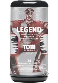 TOF LEGEND CONDOMS 24PK