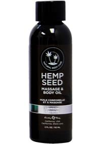 HEMP MASSAGE OIL LAVENDER 2OZ