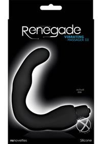 RENEGADE VIBRATING MASSAGER LLL BLACK