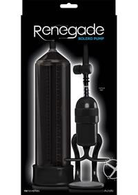 RENEGADE BOLERO PUMP BLACK