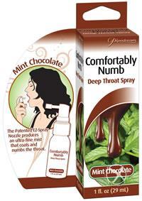 DEEP THROAT SPRAY MINT/CHOC