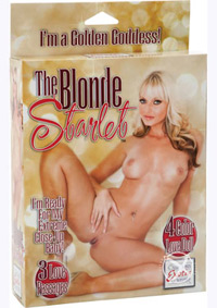 BLONDE STARLET LOVE DOLL