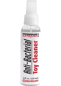 PIPEDREAM EXTREME ANTI BACTERIAL TOY CLEANER 4 OZ