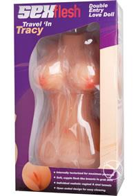 TRAVEL IN TRACY 3D MINI SEX DOLL
