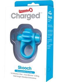 CHARGED SKOOCH RING BLUE